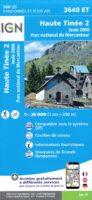 wandelkaart 3640ET Haute-Tinée 2, Isola 2000 1:25.000 9782758543343  IGN IGN 25 Franse Alpen/ zuidhelft  Wandelkaarten Mercantour, Alpes-Maritimes