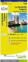 SV-138  La Rochelle, Saintes | omgevingskaart / fietskaart 1:100.000 9782758543749  IGN Série Verte 1:100.000  Fietskaarten, Landkaarten en wegenkaarten, Wijnreisgidsen Vendée, Charente