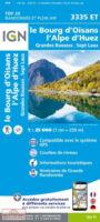 3335ET Alpe d'Huez, Le Bourg d'Oisans | wandelkaart 1:25.000 9782758551607  IGN IGN 25 Franse Alpen/ zuidhelft  Wandelkaarten Franse Alpen: zuid