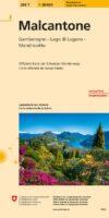 286T  Malcantone, Tessin [2020] 9783302302867  Bundesamt / Swisstopo SAW 1:50.000  Wandelkaarten Graubünden, Tessin