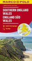 Engeland Zuid en Midden, Wales | wegenkaart 1:300.000 9783829737920  Marco Polo (D)   Landkaarten en wegenkaarten Groot-Brittannië