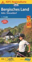 Bergisches Land   fietskaart 1:75.000 9783870739508  ADFC / BVA ADFC Regionalkarte  Fietskaarten Düsseldorf, Wuppertal & Bergisches Land