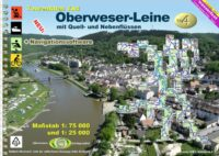 TourenAtlas TA4 Oberweser-Leine | kanogids 9783929540789  DKV/Jübermann   Watersportboeken Bremen, Ems, Weser, Hannover & overig Niedersachsen