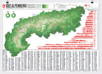1001 Berge und 20 Wanderwege | wandkaart van de Alpen 9783946719007  Marmota Maps   Wandkaarten Zwitserland en Oostenrijk (en Alpen als geheel)