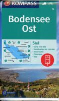 wandelkaart KP-1b Bodensee Ost | Kompass 9783990448847  Kompass Wandelkaarten Kompass Bodensee / Schw. Alb  Wandelkaarten Bodenmeer, Schwäbische Alb