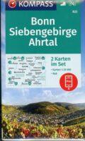 KP-822  Bonn, Siebengebirge, Ahrtal | set van 2 wandelkaarten 9783991210740  Kompass Wandelkaarten Kompass Duitsland  Wandelkaarten Aken, Keulen en Bonn