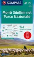 KP-2474 Parco Nazionale dei Monti Sibillini 1:50.000 | Kompass wandelkaart 9783991211242  Kompass Wandelkaarten Kompass Italië  Wandelkaarten De Marken, Umbrië