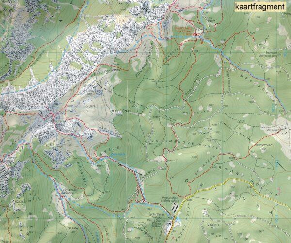 TAB-065 Julische Alpen | Tabacco wandelkaart 9788883151118  Tabacco Tabacco 1:25.000  Wandelkaarten Slovenië