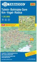 TAB-066  Tolmin, Bohinjske Gore, Krn, Rodica | Tabacco wandelkaart 9788883151125  Tabacco Tabacco 1:25.000  Wandelkaarten Slovenië