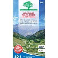 FRA50-1 Alta Val Susa | wandelkaart 1:50.000 9788897465256  Fraternali Editore Fraternali 1:50.000  Wandelkaarten Turijn, Piemonte