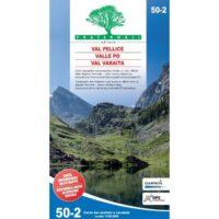 FRA50-2  Val Pellice | wandelkaart 1:50.000 9788897465300  Fraternali Editore Fraternali 1:50.000  Wandelkaarten Turijn, Piemonte