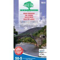 FRA50-5 Gran Paradiso | wandelkaart 1:50.000 9788897465423  Fraternali Editore Fraternali 1:50.000  Wandelkaarten Aosta, Gran Paradiso
