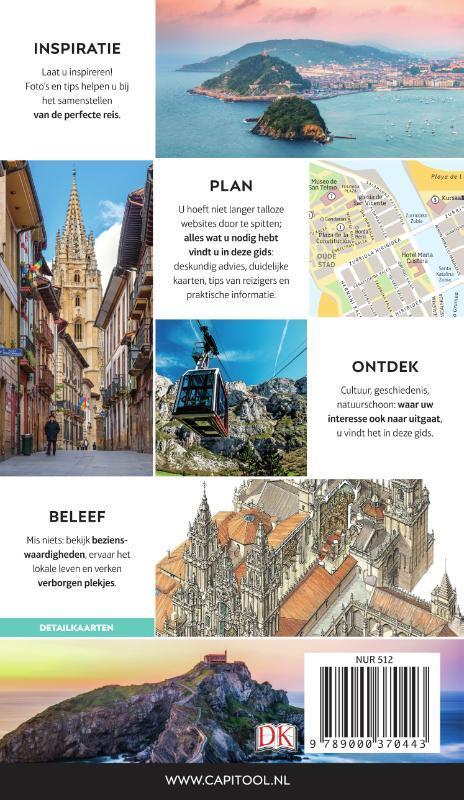 Capitool gids Noord-Spanje 9789000373932  Unieboek Capitool Reisgidsen  Reisgidsen Noordwest-Spanje