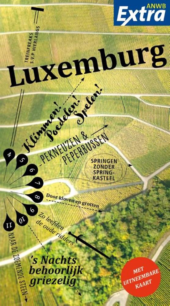 ANWB Extra reisgids Luxemburg 9789018046200  ANWB ANWB Extra reisgidsjes  Reisgidsen Luxemburg
