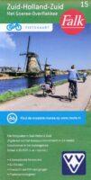 FFK-15  Zuid-Holland / Zuid | VVV fietskaart 1:50.000 9789028704084  Falk Fietskaarten met Knooppunten  Fietskaarten Den Haag, Rotterdam en Zuid-Holland