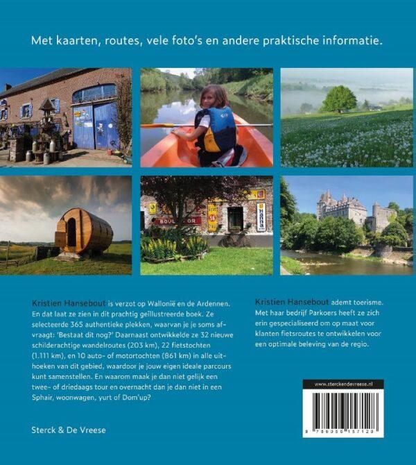 Wallonië en de Ardennen   reisgids 9789056157128 Kristien Hansebout Bornmeer Sterck & De Vreese  Reisgidsen Wallonië (Ardennen)