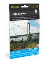 wandelkaart Höga kusten 1:50.000 9789186773267  Calazo   Wandelkaarten Midden Zweden