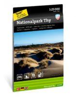 Thy Nationaal Park wandelkaart 1:25.000 9789188779755  Calazo   Wandelkaarten Denemarken