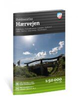 wandelatlas Hærvejen  (Haervejen - Denemarken) 1:50.000 9789188779816  Calazo   Fietsgidsen, Meerdaagse wandelroutes, Wandelgidsen Jutland