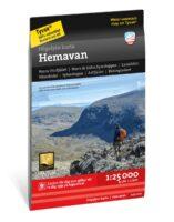 wandelkaart Hemavan 1:25.000 9789189079168  Calazo Högalpina kartor  Wandelkaarten Midden Zweden
