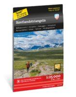 wandelkaart Jämtlandtriangeln 1:25 000 9789189079748  Calazo Högalpina kartor  Wandelkaarten Midden Zweden