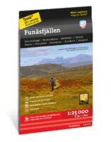 wandelkaart Funäsfjällen 1:25 000 9789189079823  Calazo Högalpina kartor  Wandelkaarten Midden Zweden