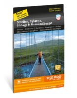 wandelkaart Storlien Sylarna Helags Ramundberget 1:50.000 9789189371002  Calazo   Wandelkaarten Midden Zweden