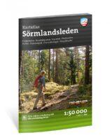Outdoor wandelatlas Sörmlandsleden 1:50.000 9789189371200  Calazo   Meerdaagse wandelroutes, Wandelgidsen, Wandelkaarten Zuid-Zweden