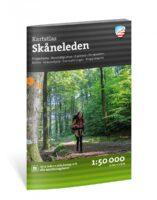 Outdoor wandelatlas Friluftsatlas Skåneleden (Skaneleden) 1:50.000 9789189371217  Calazo   Meerdaagse wandelroutes, Wandelgidsen Zuid-Zweden