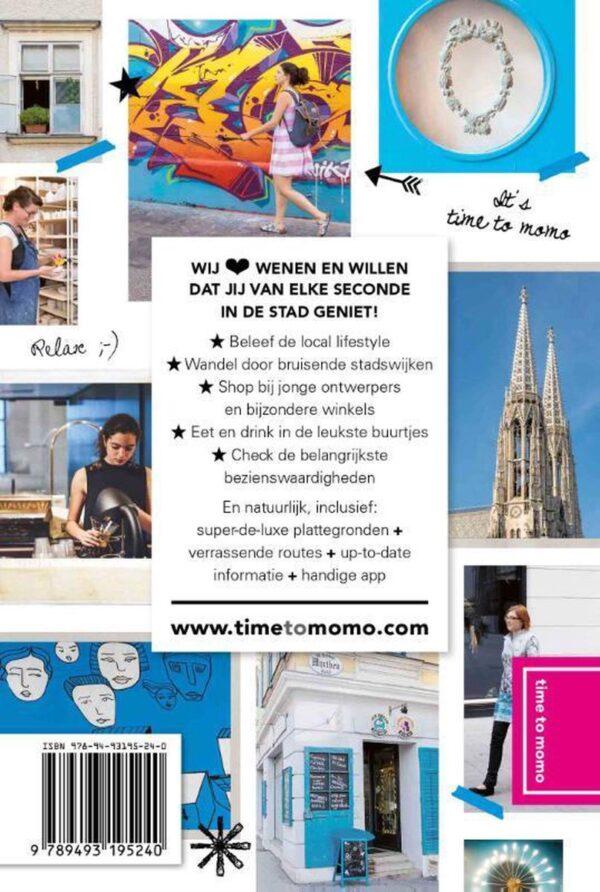 Time to Momo Wenen (100%) 9789493195240  Mo Media Time to Momo  Reisgidsen Wenen, Noord- en Oost-Oostenrijk