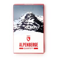 Alpenberge Quartett | kwartetspel met beroemde Alpenbergen ABQUARTETT  Marmota Maps   Landeninformatie Zwitserland en Oostenrijk (en Alpen als geheel)