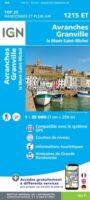 1215ET   Avranches, Granville | wandelkaart 1:25.000 9782758546375  IGN IGN 25 Normandië  Wandelkaarten Normandië
