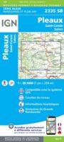 SB-2335SB Pleaux, St.Cernin, Salers | wandelkaart 1:25.000 9782758548560  IGN IGN 25 Auvergne  Wandelkaarten Auvergne