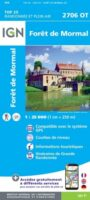 wandelkaart 2706OT Forêt de Mormal 1:25.000 9782758548805  IGN IGN 25 Picardië & Nord  Wandelkaarten Picardie, Nord