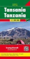 Tanzania 1: 1.300.000 9783707913330  Freytag & Berndt   Landkaarten en wegenkaarten Tanzania, Zanzibar