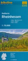 fietskaart Rheinhessen, 1:75.000 (RPF06) 9783850003216  Esterbauer Bikeline Radkarten  Fietskaarten Pfalz, Deutsche Weinstrasse, Rheinhessen