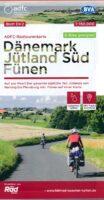 ADFC-DK2 Zuid-Jutland & Funen (Fyn) | fietskaart 1:150.000 9783870739416  ADFC / BVA Radtourenkarten 1:150.000  Fietskaarten Fyn en de eilanden, Jutland