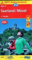 ADFC-19 Mosel/Saarland | fietskaart 1:150.000 9783870739607  ADFC / BVA Radtourenkarten 1:150.000  Fietskaarten Moezel, van Trier tot Koblenz, Saarland, Hunsrück