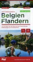 ADFC-B1 Vlaanderen | fietskaart 9783969900000  ADFC / BVA Radtourenkarten 1:150.000  Fietskaarten Vlaanderen & Brussel