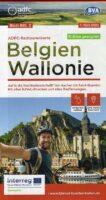 ADFC-B2 Wallonië | fietskaart 9783969900017  ADFC / BVA Radtourenkarten 1:150.000  Fietskaarten Wallonië (Ardennen)