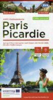 ADFC-F1 Noord-Frankrijk: Picardië - Parijs | fietskaart 9783969900024  ADFC / BVA Radtourenkarten 1:150.000  Fietskaarten Picardie, Nord
