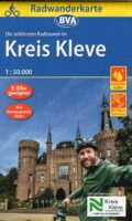 Fietskaart Kreis Kleve, schaal 1:50.000 9783969900321  BVA   Fietskaarten Niederrhein