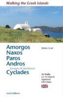 Walking Greek Islands: Amorgos, Naxos, Paros, Andros 9783981925043  Dieter Graf   Wandelgidsen Egeïsche Eilanden