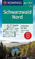 wandelkaart KP-886 Schwarzwald Nord | Kompass 9783991210597  Kompass Wandelkaarten Kompass Zwarte Woud  Wandelkaarten Zwarte Woud