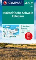 KP-740 NP Holsteinische Schweiz | Kompass wandelkaart 9783991210856  Kompass Wandelkaarten Kompass Duitsland  Wandelkaarten Sleeswijk-Holstein