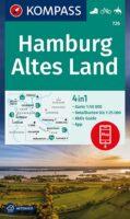 wandelkaart KP-726 Hamburg - Altes Land | Kompass 9783991210863  Kompass Wandelkaarten Kompass Duitsland  Fietskaarten, Wandelkaarten Hamburg