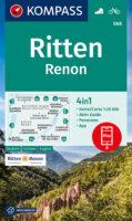 KP-068  Ritten (Renon) 1:25.000 9783991211303  Kompass Wandelkaarten Kompass Italië  Wandelkaarten Zuid-Tirol, Dolomieten