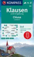 KP-059  Klausen (Chiusa) und Umg. 1:25.000   Kompass wandelkaart 9783991211327  Kompass Wandelkaarten Kompass Italië  Wandelkaarten Zuid-Tirol, Dolomieten