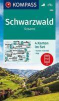 wandelkaart KP-888 Schwarzwald | Kompass Zwarte Woud 9783991212690  Kompass Wandelkaarten Kompass Zwarte Woud  Wandelkaarten Zwarte Woud