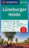 wandelkaart KP-718  Lüneburger Heide 1:50.000 | Kompass 9783991212942  Kompass Wandelkaarten Kompass Duitsland  Wandelkaarten Bremen, Ems, Weser, Hannover & overig Niedersachsen